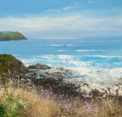 Modern Artist Amanda HOSKIN - Watching the Sea, Stepper Point
