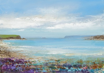 Modern Artist Amanda HOSKIN - Abstract Colours, Padstow