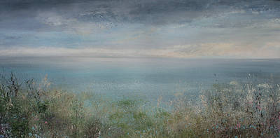 Modern Artist Amanda HOSKIN - Soft Evening Light