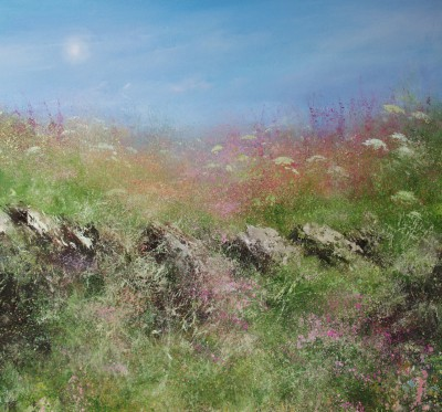 Amanda HOSKIN - Summer Flowers, Coastal Path St Ives