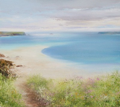 Amanda HOSKIN - Path down the Beach, Daymer Bay