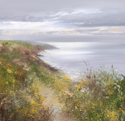 Amanda HOSKIN - On the Coastal Path to Fowey