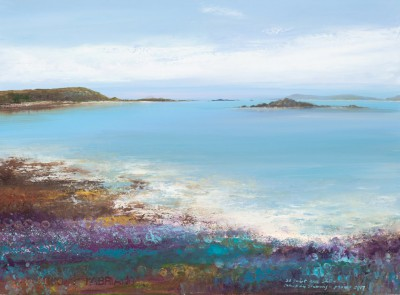 Amanda HOSKIN, contemporary artist - Abstract Colours, Scillies