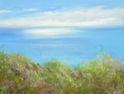 Modern Artist Amanda HOSKIN - Glorious Summer's Day on the North Coast