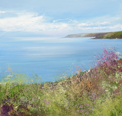Modern Artist Amanda HOSKIN - Stunning View towards Start Point