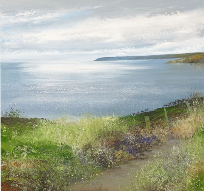 Modern Artist Amanda HOSKIN - Silver Light over Start Point