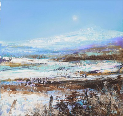 Modern Artist Amanda HOSKIN - First of the Snow, Fife