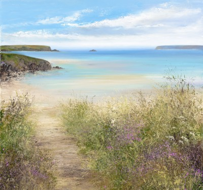 Amanda HOSKIN - Summer Path, Daymer Bay