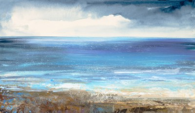 Modern Artist Amanda HOSKIN - Clouds Gathering on the Horizon