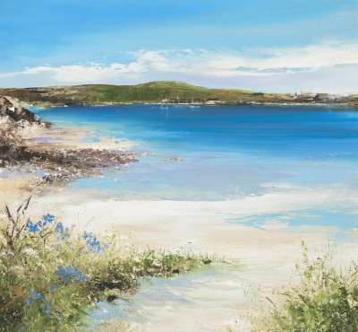 Amanda HOSKIN, contemporary artist - <span style='color:red;font-size: 200%'>•</span> Wish You Were Here, Tresco, Isles of Scilly