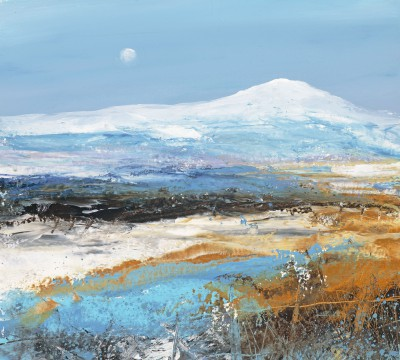 Modern Artist Amanda HOSKIN - A Clear Bright Morning Sky, Fife