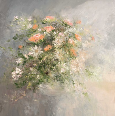 Modern Artist Amanda HOSKIN - Roses from the Garden