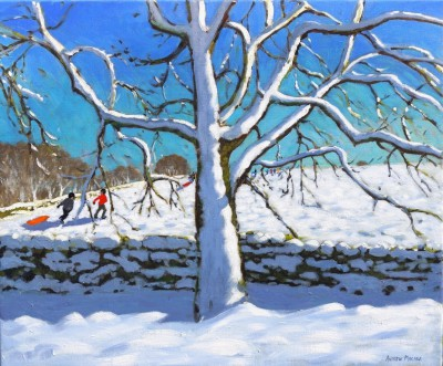 Modern Artist Andrew MACARA  - Tree in Winter