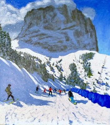 Val Gardena painting by artist Andrew MACARA