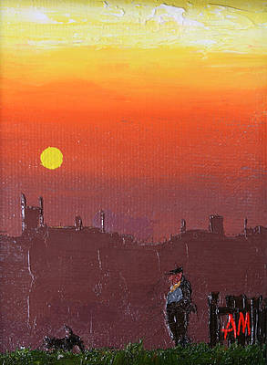 Modern Artist Austin MOSELEY - Quiet Sunset