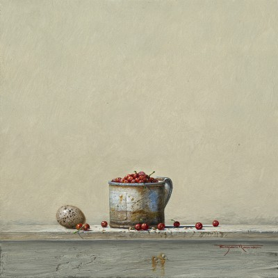 Bryan HANLON - Redcurrants and Coot