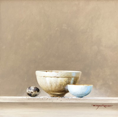 Bryan HANLON, contemporary artist - Jelly Mould and Quail's Egg
