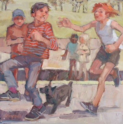 Catriona CAMPBELL - Children in the Park