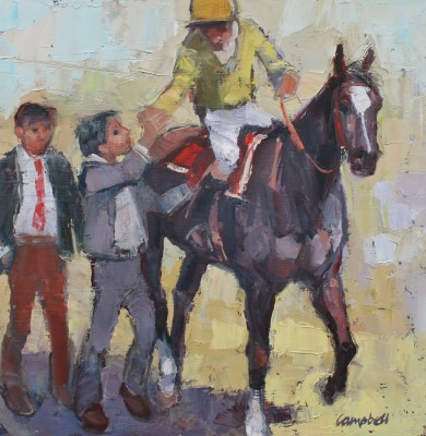 Modern Artist Catriona CAMPBELL - After the Race