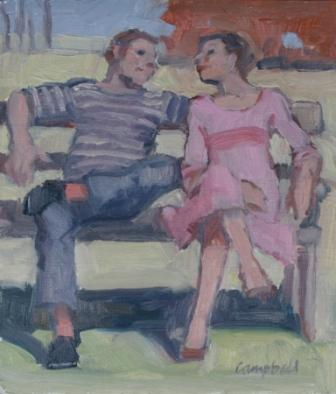 Catriona CAMPBELL - Sharing a Bench
