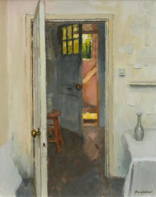 'Interior with Vase' painting