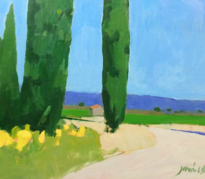 Charles JAMIESON - Hot Afternoon, Languedoc