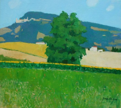 Modern Art from artist - Charles JAMIESON - Landscape Le Marche