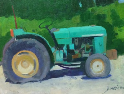 Modern Artist Charles JAMIESON - French Tractor