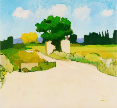 Near Azille painting by artist Charles JAMIESON