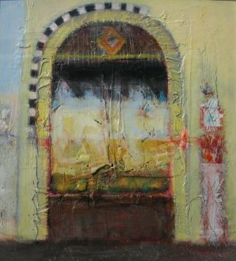Modern Artist Charles MacQUEEN - Antique Shop, Agra