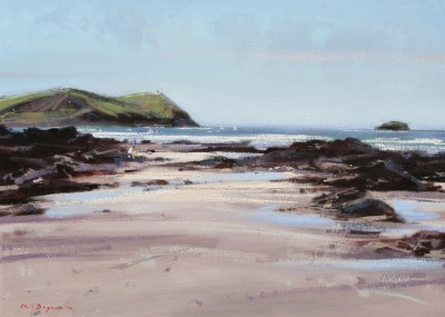 Modern Artist Chris DAYNES - Stepper Point, near Padstow