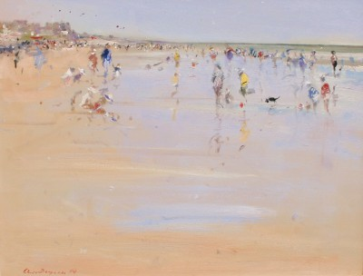 Modern Artist Chris DAYNES - March Sunlight, Camber