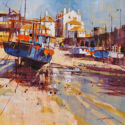 Modern Artist Chris FORSEY - Reflection and Shadow, St Ives