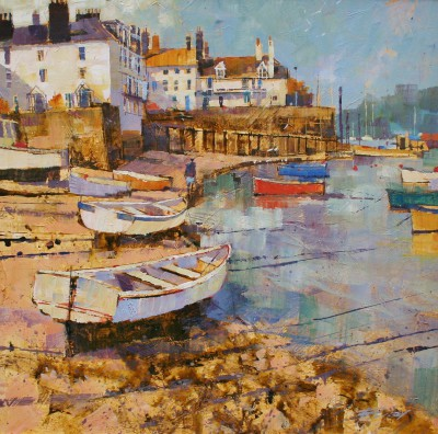 Modern Artist Chris FORSEY - Along the Shoreline, Dartmouth