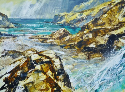 Chris FORSEY - Cascades, Tintagel Beach