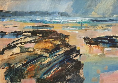 Chris FORSEY - Rocks and Distant Surf