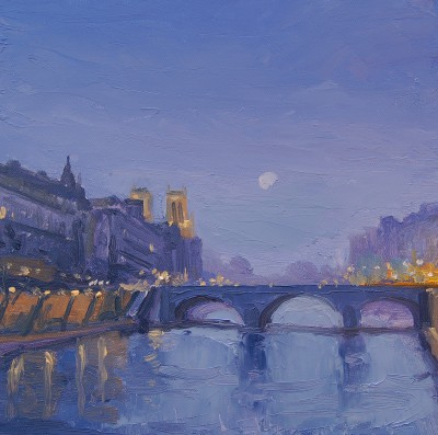 Colin CARRUTHERS - Moon over Paris