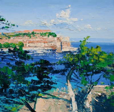 Colin CARRUTHERS - Pine Trees Collioure