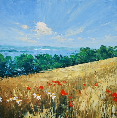 Colin CARRUTHERS - Harvest Field, Fife