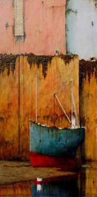 Modern Artist Cyril CROUCHER - Without a Breeze Without a Tide