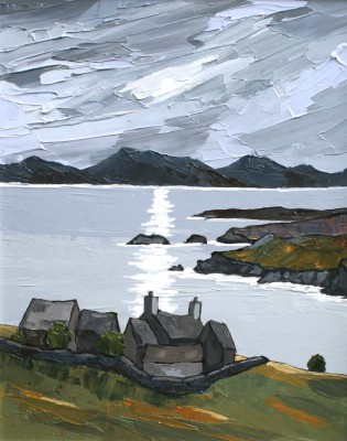 David BARNES - Moon over Llyn