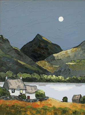David BARNES - Snowdonian Night