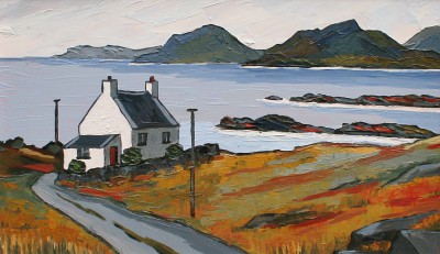 David BARNES - Hebridean Croft