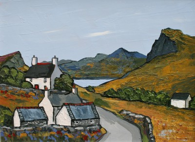 David BARNES - Road through Nant