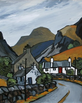 David BARNES - The Llanberis Pass