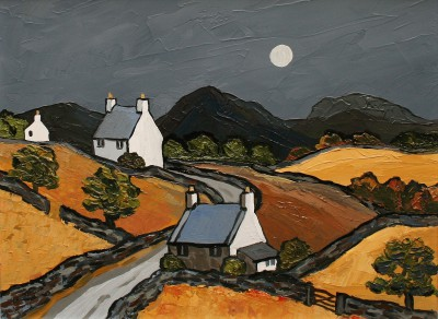 David BARNES - Cottages near Prion