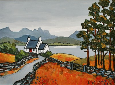 David BARNES - Cottage in Assynt