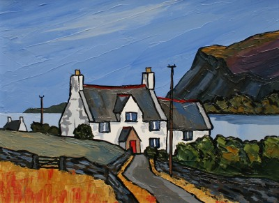 David BARNES - Cottage near Dundonald