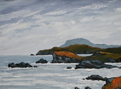 Modern Artist David BARNES - The West Coast of Anglesey