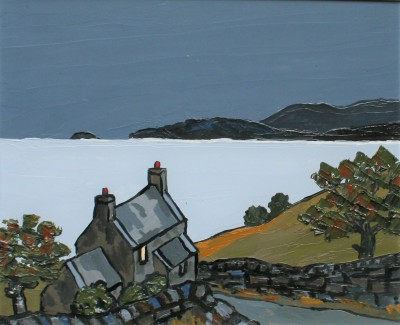 Cardigan Bay painting by artist David BARNES